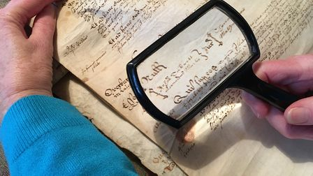 Good eyesight (or an optical aid) is helpful when youre translating historic records! This document