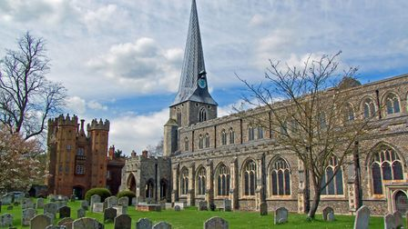 The building of St Marys Church started in the late 12th/early 13th Century, on the site of an old