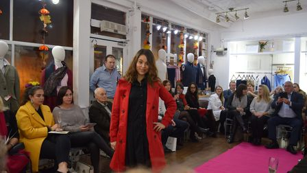 The fashion show held at Wolf In Sheep's Clothing in Bury St Edmunds. Picture: CLAIRE BRAKER-FINCH