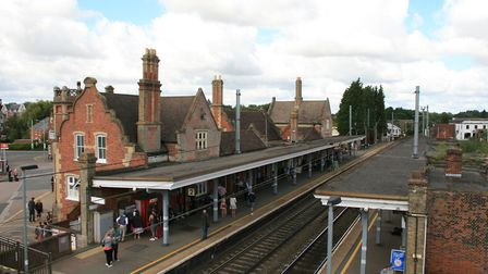Stowmarket railway station Picture: MARK LANGFORD