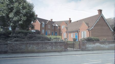 The almshouses at Colchester Pictures: PAUL NIXON