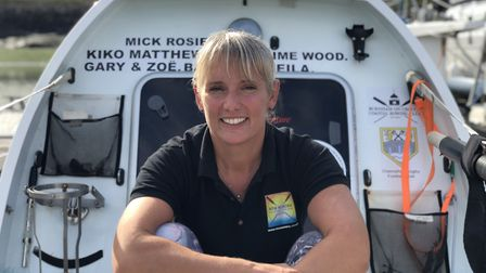 PC Wood will set off in January for her Atlantic trip Picture: ESSEX POLICE