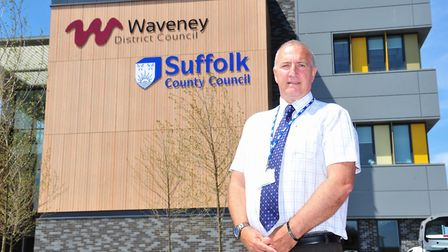 Phil Aves from Lowestoft Rising told the Suffolk Public SEctor Leaders meeting in Lowestoft that a '