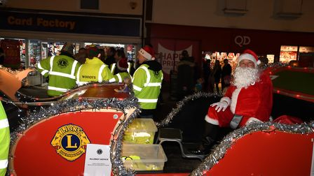 Will the Stowmarket Lions Santa Sleigh be visiting a street near you? Picture: JONATHAN BROWN