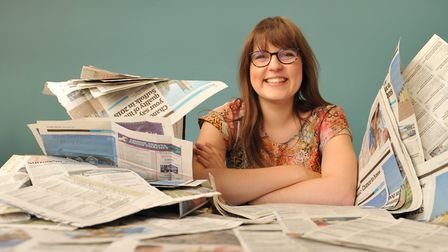 Amy Gibbons won an NCTJ award Picture: SARAH LUCY BROWN