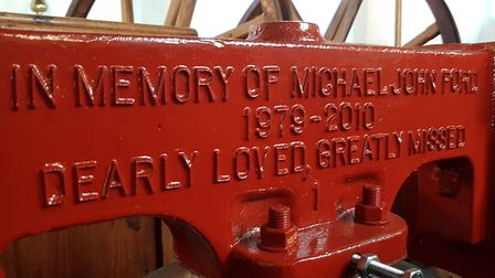 One of the bells was dedicated to committee member Lesley Ford-Platt's son - who died in 2010 aged 3