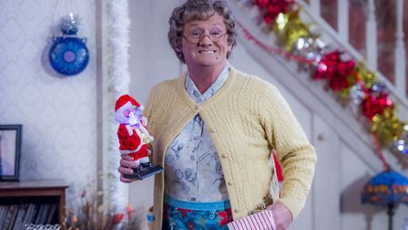 Mrs Brown's Boys is fast becoming a Christmas fixture Photo: Alan Peebles/BBC