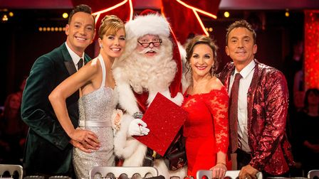 Strictly Come Dancing Christmas Special - Craig Revel Horwood, Darcey Bussell, Father Christmas (th