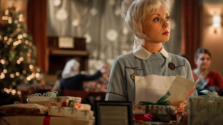 Call the Midwife remains an imoportant part of the BBC's Christmas scedules. Picture shows Trixie (