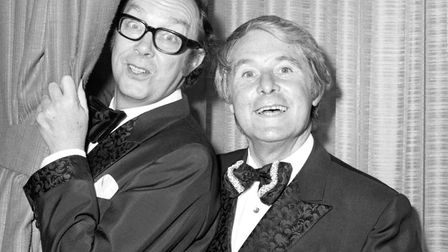 Morecambe and Wise have been brought back into the BBC's Christmas mix after missing episodes have b