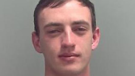 Jordan Wilson, who has been jailed for 30 months Picture: SUFFOLK CONSTABULARY