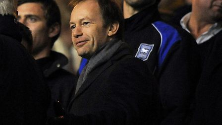 Marcus Evans acquired �32m worth of debt when buying the club in December 2007. Photo: Pagepix