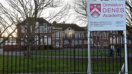 Ormiston Denes Academy ranked 3rd in the list of Suffolk secondary schools with the most permanent e