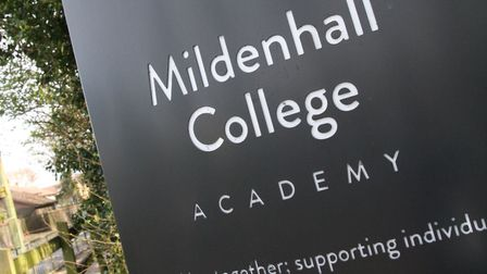 Mildenhall College Academy ranked 6th in the list of Suffolk secondary schools with the most permane