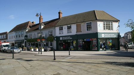 Sudbury Town Centre. Picture: Peter French