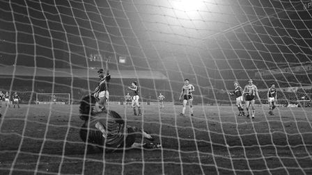In 1987, Romeo Zondervan scored twice as the Blues beat Bradford City 4-0 at home