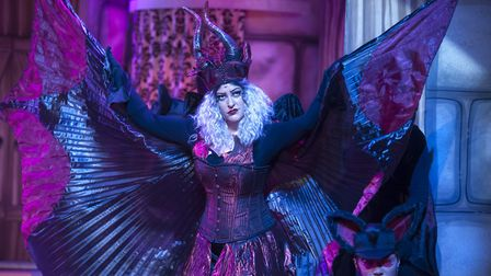 Britt Lenting as Carabosse. Picture: TONY KELLY