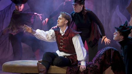 Joseph Connor as Prince Florin and Young Chorus. Picture: TONY KELLY