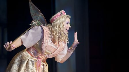 Elin Llwyd as Fairy Fortune. Picture: TONY KELLY