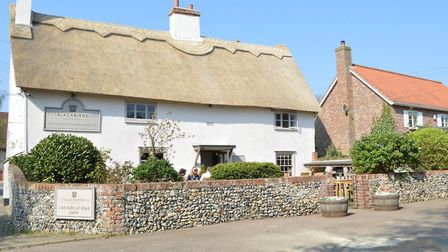 The Blackbirds Inn at Woodditton is to be rebuilt Picture: THE CHESTNUT GROUP