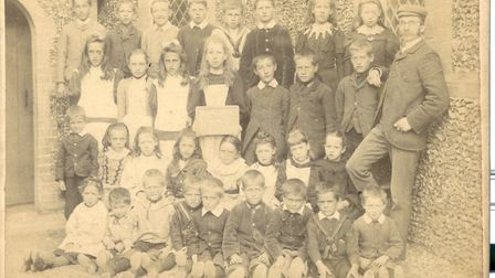 Westleton Village School pictures from the village archives Picture: WESTLETON VILLAGE HALL