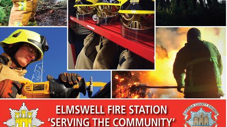A calendar has been produced by Elmswell Fire Station Picture: SUFFOLK FIRE AND RESCUE