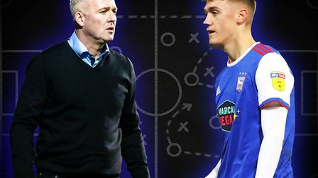 Is it time for Paul Lambert to give Jack Lankester his first Ipswich Town start? Picture: STEVE WALL