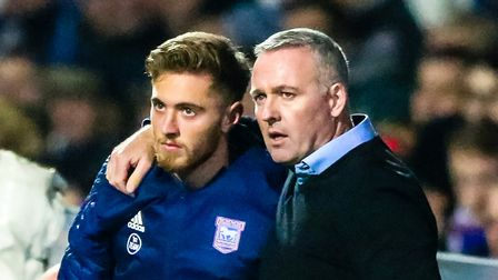Teddy Bishop returned to action against West Brom. Picture: STEVE WALLER