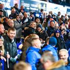 There was a bumper crowd of almost 23,000 at Portman Road. Picture: STEVE WALLER