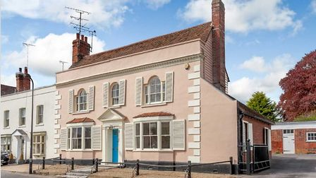 This five-bedroom home in Coggeshall is on the market for £950,000. Picture: PHILIP JAMES ESTATES