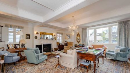 An interior view of the house in East Street, Coggeshall, on the market for £950,000. Picture: PHILI