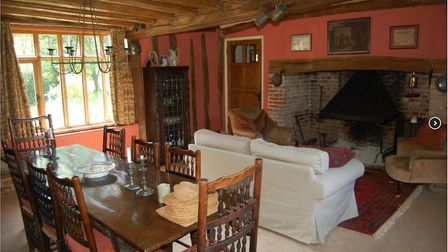 An interior of Goodwins Farm in Heveningham. Picture: MICHAEL WILLIS-BETTS/FINE & COUNTRY