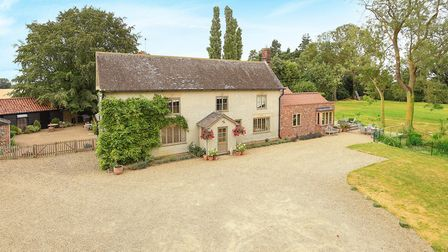 This house in Bradfield St George near Bury St Edmunds is available for �995,000. Picture: BEDFORDS