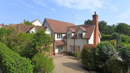 Driftway House in Woodbridge has a guide price of £1,125,000. Picture: FENN WRIGHT