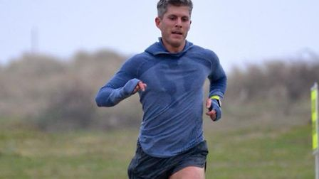 Matt Spencer, who was first home for the sixth time at the 14 Sizewell parkruns. Picture: SIZEWELL P
