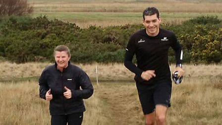 Runners brave the November elements to take part in th 14th staging of the Sizewell parkrun. Picture