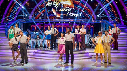 Strictly 2018 Celebrities and Pro Dancers - (C) BBC - Photographer: Guy Levy