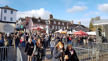 Around 125,000 people attended the fayre Picture: RACHEL EDGE