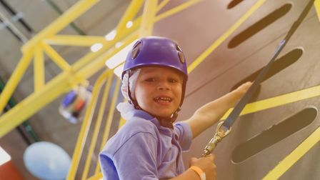 Ninja Warrior style gyms are fun for all ages PICTURE: Getty Images/iStockphoto