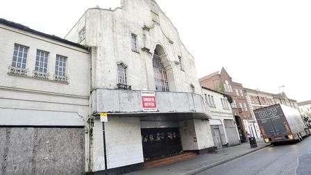 The old Odeon cinema has been empty sice 2002 Picture: SU ANDERSON