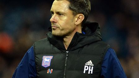 Paul Hurst was sacked as Ipswich Town manager on October 24. Picture Pagepix