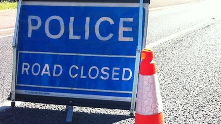 A stretch of the A11 is closed following an accident. Picture: ARCHANT