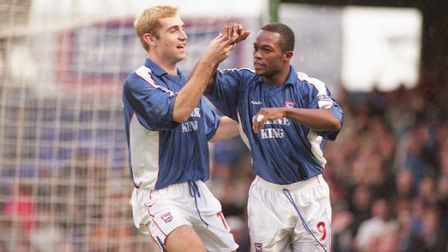 David Johnson scored twice on this day in 1999