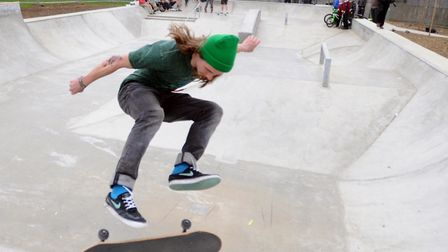 Luke Jarvis, 25, was a talented skateboarder Picture: ALEX FAIRFULL