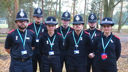 Trainee officers will also wear the badge. Picture: KAREN WILLIE