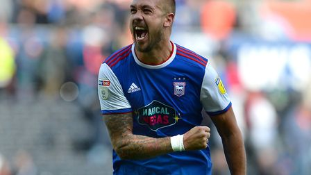 Ipswich Town captain Luke Chambers hopes the club's fans stick with his side. Photo: WARREN PAGE