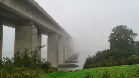 What causes the Orwell Bridge to close? Picture: MARK NUNN