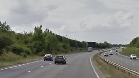 The A14 near Newmarket Picture: GOOGLE MAPS