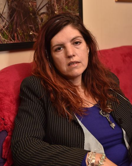 Lucy Webb-Rose speaks out about her experiences with local mental health services. Byline: Sonya Dun