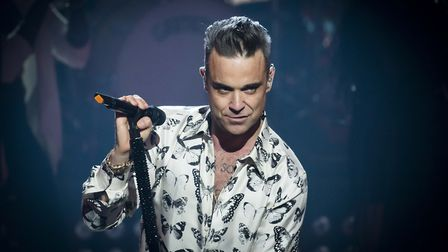 """Jon Guelas said mentor Robbie Williams was an """"absolute legend"""" Picture: PA"""